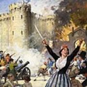 Storming The Bastille Art Print