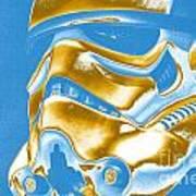 Stormtrooper Helmet 30 Art Print