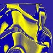 Stormtrooper Helmet 8 Art Print