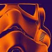Stormtrooper Helmet 9 Art Print