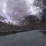 Stormy Blue Ridge Parkway Print by Betsy Knapp
