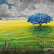 Stormy Clouds Art Print by Alicia Maury