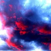 Stormy Monday Blues Art Print