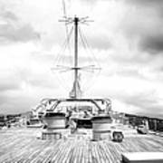 Stormy Ship Art Print