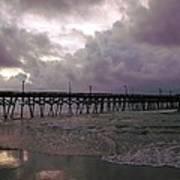 Stormy Sky In Myrtle Beach Art Print