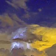 Stormy Stormy Night Art Print