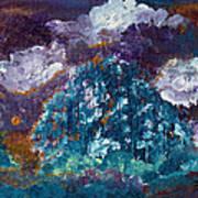 Stormy Sundown Art Print
