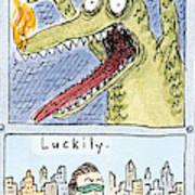 Story Template Art Print