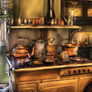 Stove - What's For Dinner Art Print