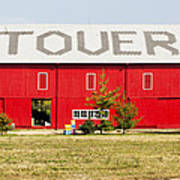 Stovers Farm Market Berrien Springs Michigan Usa Art Print