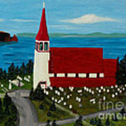 St.philip's Church 1999 Art Print