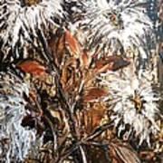 Straggly Flowers Art Print