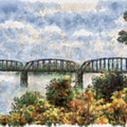Strang Bridge Art Print