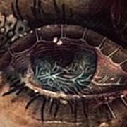Strange Eye Art Print