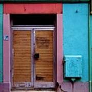 Strasbourg Door Art Print