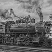 Strasburg Rail 475 In Hdr Art Print