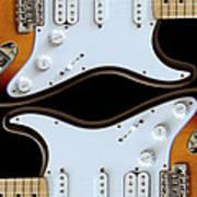 Electric Guitar 5 Art Print