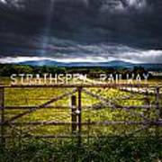 Strathspey Railway Art Print