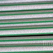 Straw Green Art Print