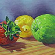 Strawberry Citrus Art Print