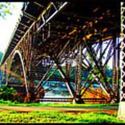 Strawberry Hill Bridge Art Print