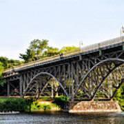 Strawberry Mansion Bridge And The Schuylkill River Art Print