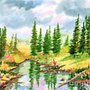 Strawberry Reservoir 2 Art Print