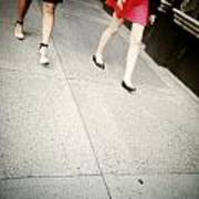 Strawberry Short Walk Art Print