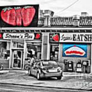 Strawn's Eat Shop Art Print