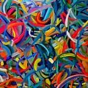 Streamers Of Joy Art Print