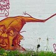 Street Art 4 Art Print