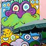 Street Art Lima Peru 2 Art Print