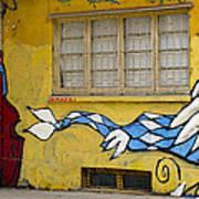 Street Art Valparaiso Chile 12 Art Print