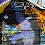 Street Art Valparaiso Chile 5 Art Print