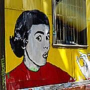 Street Art Valparaiso Chile 7 Art Print