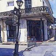 Street Corner 214 Art Print by John Boles