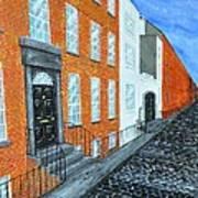 Street In Dublin Art Print