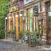 Street In Ghent Art Print