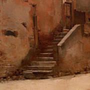 Street In Italy Art Print