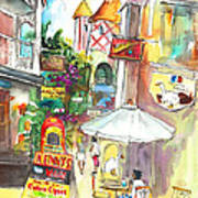 Street In Saint Martin Art Print