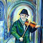 Italian Street Music. Part Two Art Print