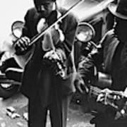 Street Musicians, 1935 Art Print