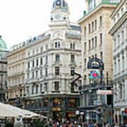 Street Of Vienna Art Print