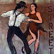 Tango Street Art Print