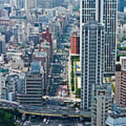 Street View Tokyo Art Print