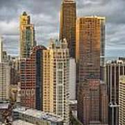 Streeterville From Above Art Print