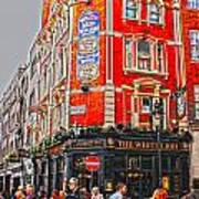Streetlife In London Art Print
