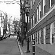 Streets Of Boston Art Print