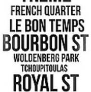 Streets Of New Orleans 3 Art Print