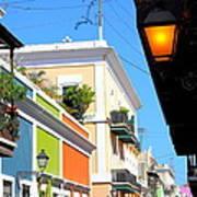 Streets Of Old San Juan Art Print
